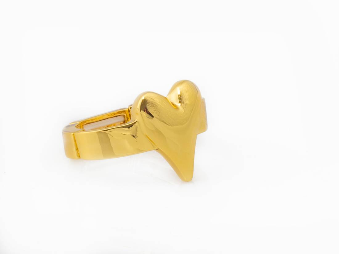 30107 Ring gullfarget hjerte
