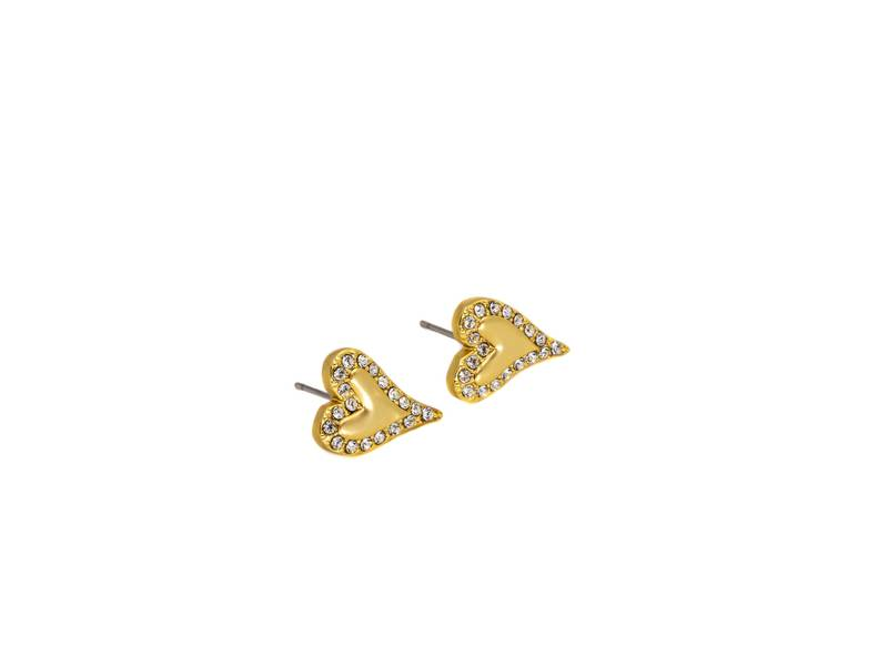 60143 Øredobb matt gullfarge