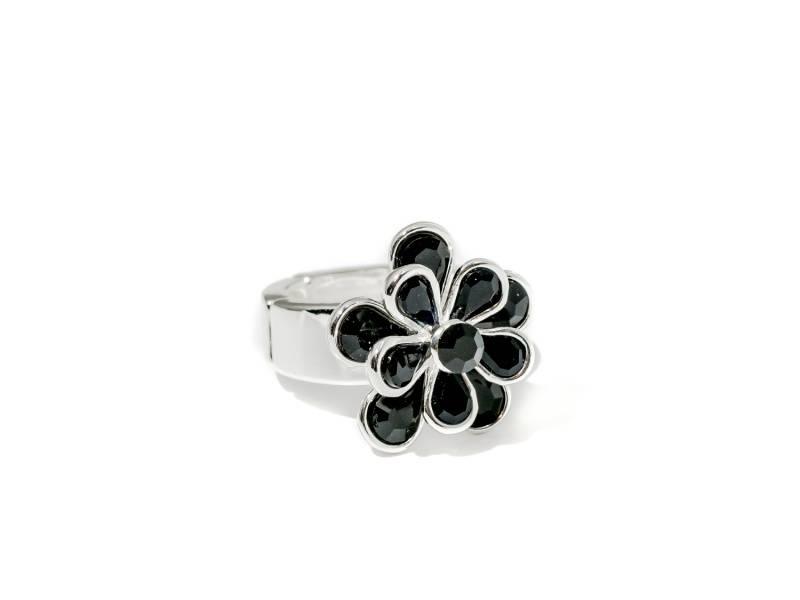 50106 Ring med sorte stener